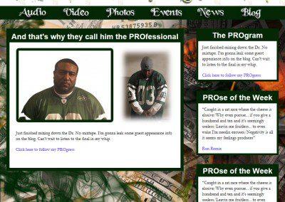 Cashmere The Pro Website