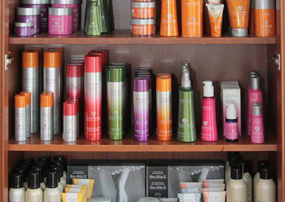 Hair Product Display
