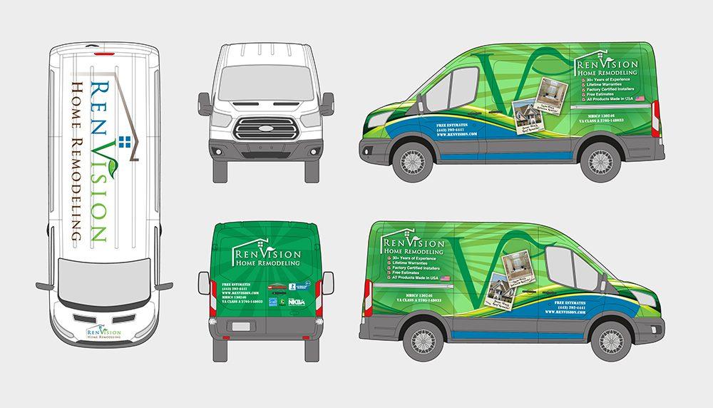 RenVision Van Wrap